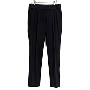Theory Minna C Slim Stretch Wool Dress Pants